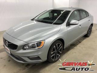Used 2018 Volvo S60 Dynamic Awd Gps Cuir for sale in Shawinigan, QC