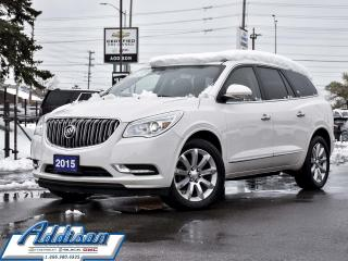 Used 2015 Buick Enclave AWD Premium Navi Leather Dual Roof AWD 7 Pass for sale in Mississauga, ON