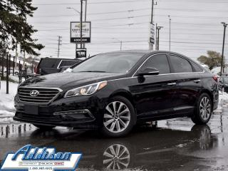 Used 2016 Hyundai Sonata Sport Tech - Navigation -  Bluetooth for sale in Mississauga, ON