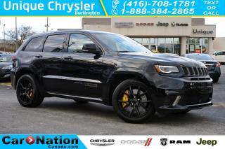 Used 2018 Jeep Grand Cherokee TRACKHAWK| 707hp| RED SEAT BELTS| HARMAN KARDON for sale in Burlington, ON