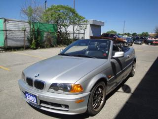 Used 2000 BMW 3 Series 323Ci ROOF DOES NOT CLOSE NEEDS REPAIR for sale in Oakville, ON