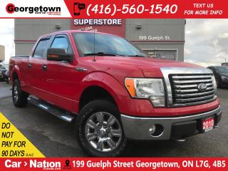 Used 2010 Ford F-150 XTR | 4X4 | 5.4L | TONNEAU COVER | CHROME PKG for sale in Georgetown, ON