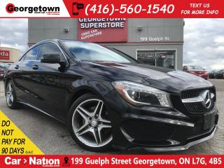 Used 2014 Mercedes-Benz CLA-Class CLA250 | AMG PKG | LEATHER | BU CAM | BLUETOOTH for sale in Georgetown, ON