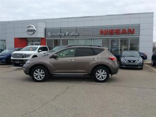Used 2013 Nissan Murano AWD SL CVT for sale in Smiths Falls, ON