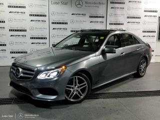 Used 2016 Mercedes-Benz E-Class E400 4MATIC Sedan for sale in Calgary, AB