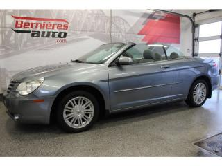 Used 2008 Chrysler Sebring CONVERTIBLE Touring for sale in Lévis, QC