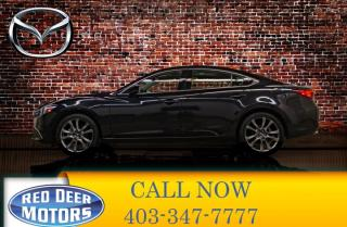 Used 2017 Mazda MAZDA6 GT Leather Roof Nav for sale in Red Deer, AB