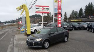 Used 2018 Chevrolet Sonic for sale in West Kelowna, BC