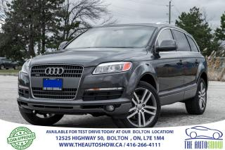 Used 2007 Audi Q7 NaviGPS RearCam 4.2L 6Seat No Accidents Certified for sale in Bolton, ON