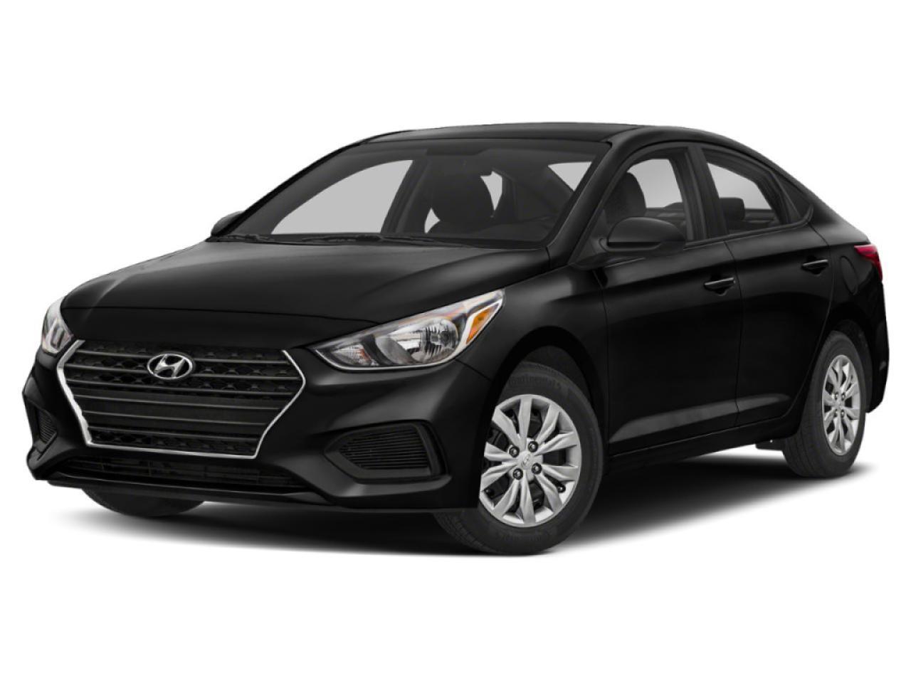 2019 Hyundai Accent Preferred 5 Doors NO OPTIONS