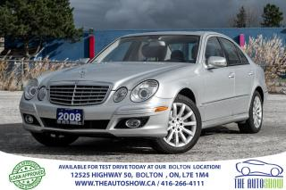 Used 2008 Mercedes-Benz E-Class 4MATIC AWD 3.0L NAVI GPS CERTIFIED STUNNING LOW KM for sale in Bolton, ON