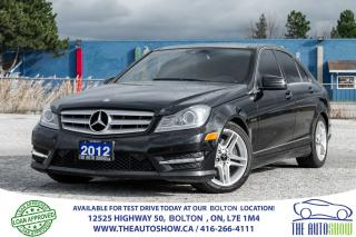 Used 2012 Mercedes-Benz C 300 C300 4MATIC AMG SPORTS NAVI GPS REAR CAMERA AWD for sale in Bolton, ON