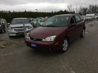 Used 2007 Ford Focus ZX5 SES for sale in Newmarket, ON
