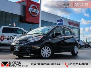 Used 2016 Nissan Versa Note SV  - One owner - Certified - $87 B/W for sale in Kanata, ON