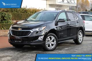 New 2019 Chevrolet Equinox LT Navigation, Heated Seats, Backup Camera for sale in Coquitlam, BC