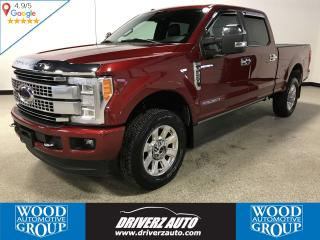 Used 2017 Ford F-350 Platinum PLATINUM TRIM, DIESEL, ULTIMATE PACKAGE for sale in Calgary, AB