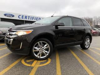 Used 2014 Ford Edge Limited AWD|PANORAMIC ROOF|NAVIGATION|LEATHER for sale in Barrie, ON