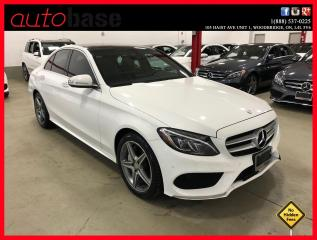 Used 2015 Mercedes-Benz C-Class C300 4MATIC PREMIUM PLUS SPORT LED for sale in Vaughan, ON