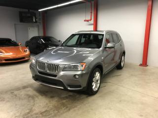 Used 2013 BMW X3 X3 XDRIVE 28i AUTO, CUIR BRUN, TOIT PANO for sale in Montréal, QC