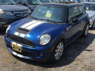 Used 2008 MINI Cooper Hardtop 2dr Cpe S for sale in Scarborough, ON