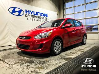 Used 2017 Hyundai Accent GL + GARANTIE + A/C + SIÈGES CHAUFFANTS for sale in Drummondville, QC