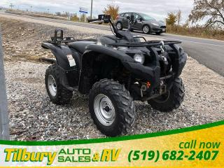 Used 2009 Yamaha GRIZZLY 550 FI *Gun Rack & Winch* for sale in Tilbury, ON
