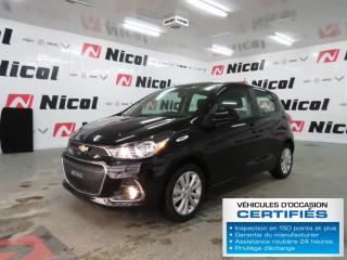 Used 2018 Chevrolet Spark LT for sale in La Sarre, QC