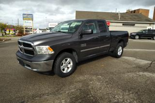 Used 2014 Dodge Ram 1500 ST QUAD CAB 4X4 for sale in Kitchener, ON
