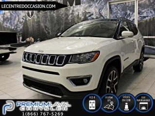 Used 2018 Jeep Compass LIMITED*CUIR/TOIT PANO/NAV/4X4* for sale in Laval, QC