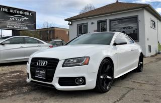 Used 2008 Audi A5 S-LINE QUATTRO NAVI BACK-UPM CAM LEATHER SUNROOF for sale in Mississauga, ON