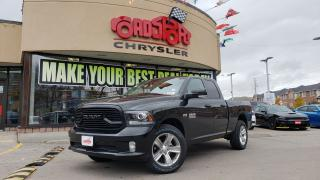 Used 2018 RAM 1500 SPORT QUAD CAB PUSH START REMOTE START for sale in Toronto, ON