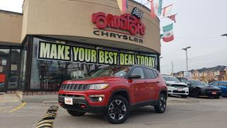 Used 2018 Jeep Compass Trailhawk NAVI PANO ROOF LEATHER for sale in Toronto, ON