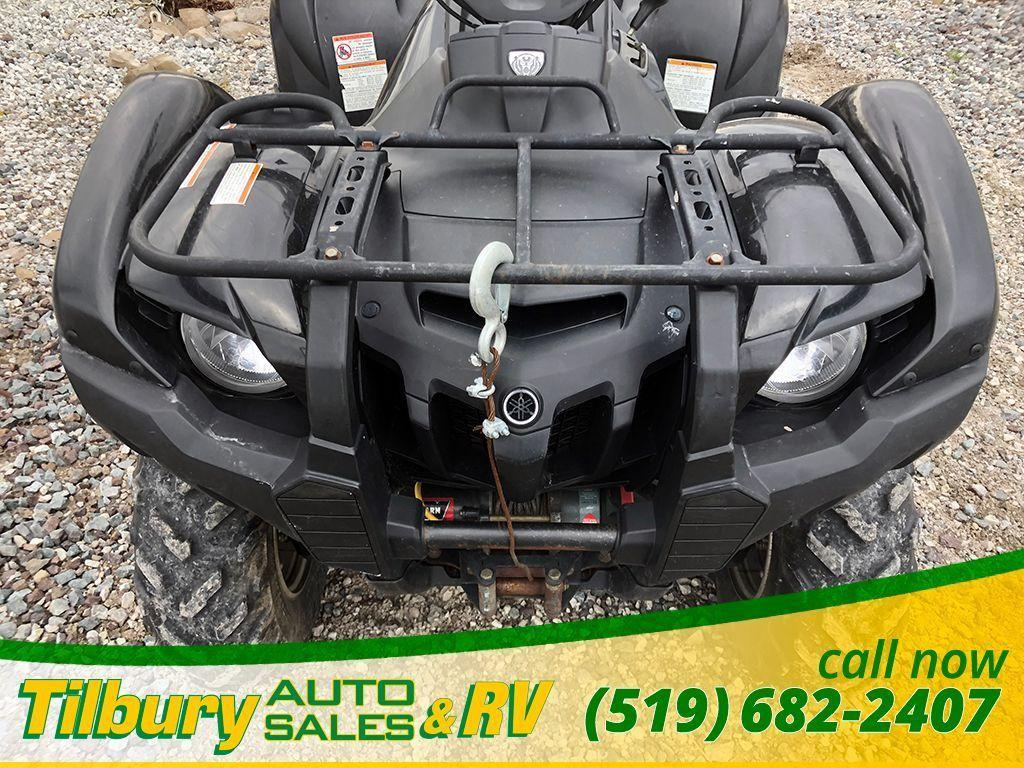 2009 Yamaha GRIZZLY 550 FI