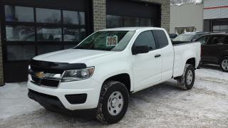 Used 2015 Chevrolet Colorado Wt, 2wd, A/c, Caméra for sale in Sherbrooke, QC
