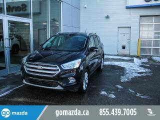 Used 2017 Ford Escape TITANIUM AWD NAV LEATHER PANO ROOF for sale in Edmonton, AB