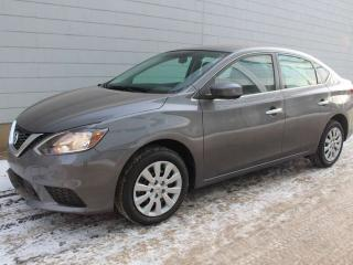 New 2019 Nissan Sentra S Block heater included, price is finance with NCF STD rate for sale in Edmonton, AB