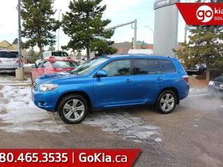 Used 2010 Toyota Highlander SPORT; POWER SUNROOF, BACKUP CAM, HEATED SEATS, LEATHER AND MORE for sale in Edmonton, AB