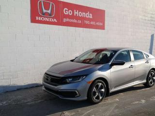 New 2019 Honda Civic SEDAN LX for sale in Edmonton, AB