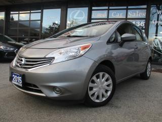 Used 2015 Nissan Versa Note SV-CAMERA-HAETED-BLUE-TOOTH for sale in Scarborough, ON