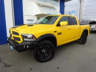 Used 2016 Dodge Ram 1500 Sport Stinger Crew 4x4, Nav, Sunroof, w/ Extra's!! for sale in Langley, BC