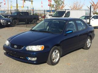 Used 2001 Toyota Corolla S for sale in Langley, BC