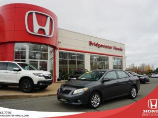 Used 2010 Toyota Corolla S for sale in Bridgewater, NS