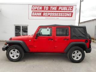 Used 2016 Jeep Wrangler UNLIMITED SPORT for sale in Toronto, ON