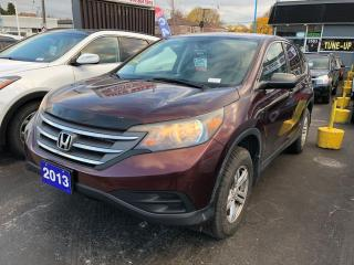 Used 2013 Honda CR-V LX for sale in Toronto, ON