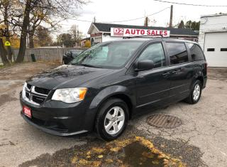Used 2011 Dodge Grand Caravan SXT/Certified/DVD/Accident Free/Stow'n'GO for sale in Scarborough, ON