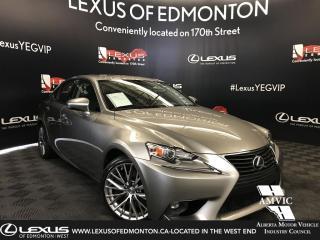 Used 2016 Lexus IS 300 Premium package for sale in Edmonton, AB