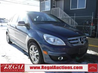 Used 2009 Mercedes-Benz B-Class B200 4D Hatchback for sale in Calgary, AB