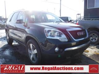 Used 2010 GMC Acadia 4D Utility AWD for sale in Calgary, AB