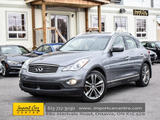 Used 2015 Infiniti QX50 PREMIUM PKG 360 CAMERA XENONS BOSE WOW!! for sale in Ottawa, ON