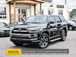 Used 2016 Toyota 4Runner SR5 LIMITED 7 PASS LEATHER ROOF JBL WOW!! for sale in Ottawa, ON
